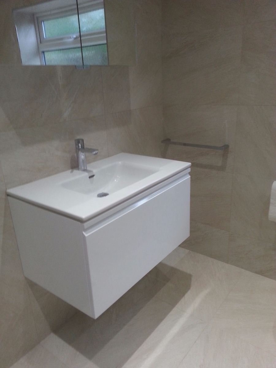 Bathrooms referbished