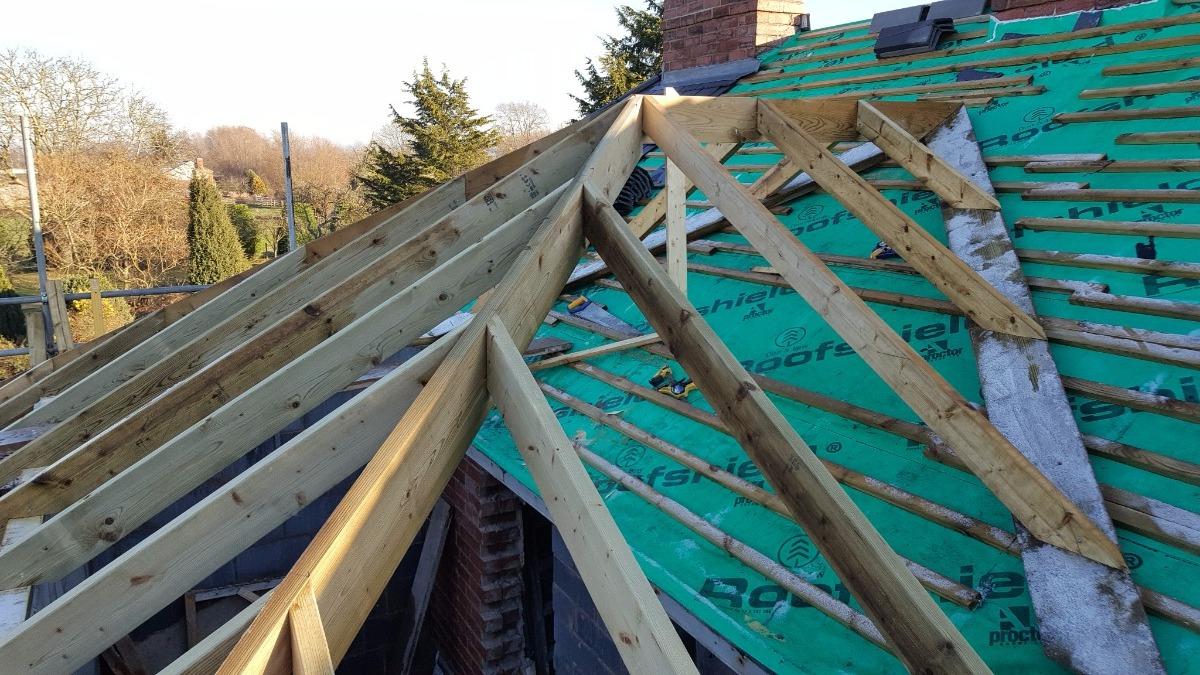 'Cut roof' nr Ledbury