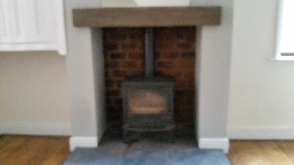 Gas fires fitted