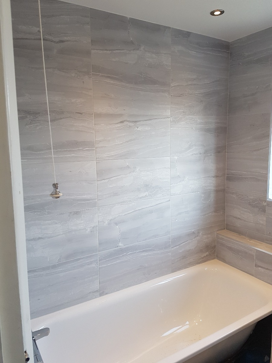 Bathroom re-fitted