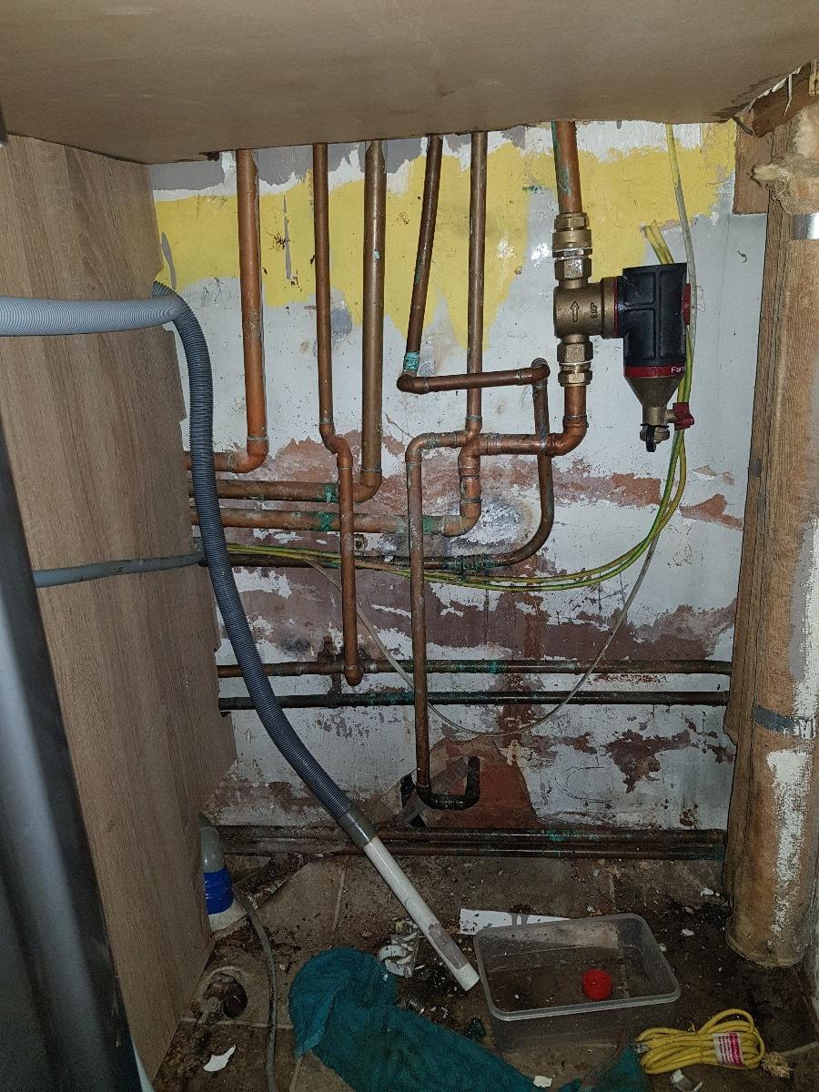 Boiler installation (combi swap)