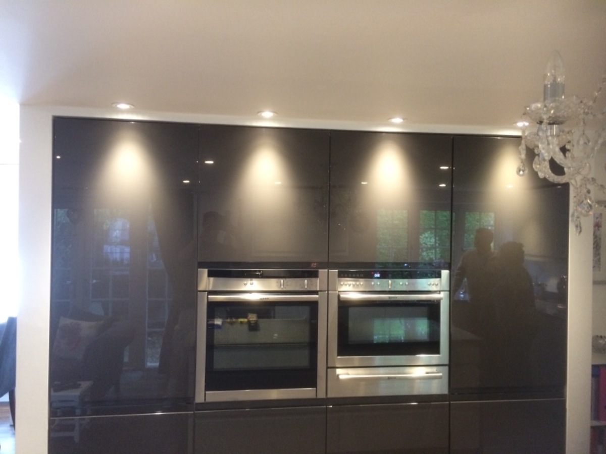 pinner tall kitchen housing lighting