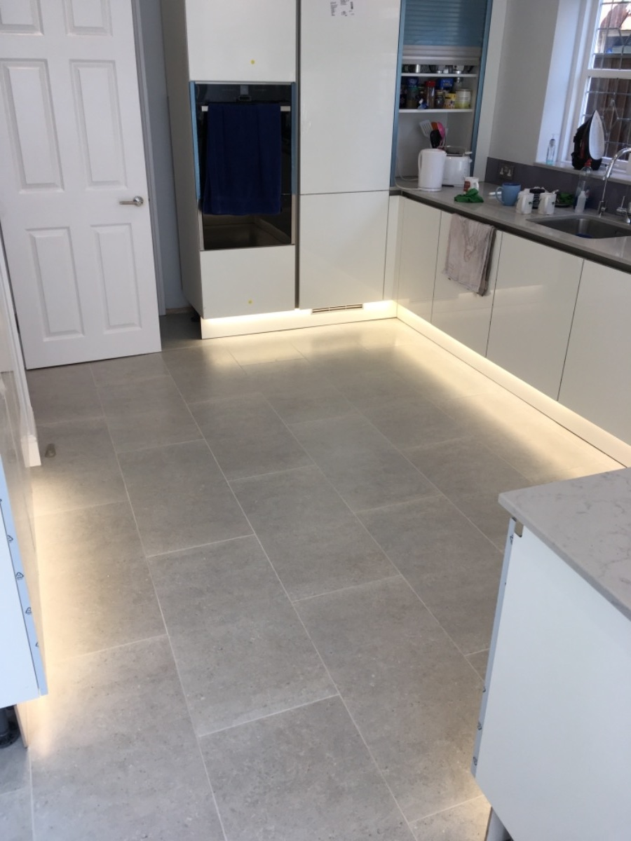 kitchen in hemel worktop lighting