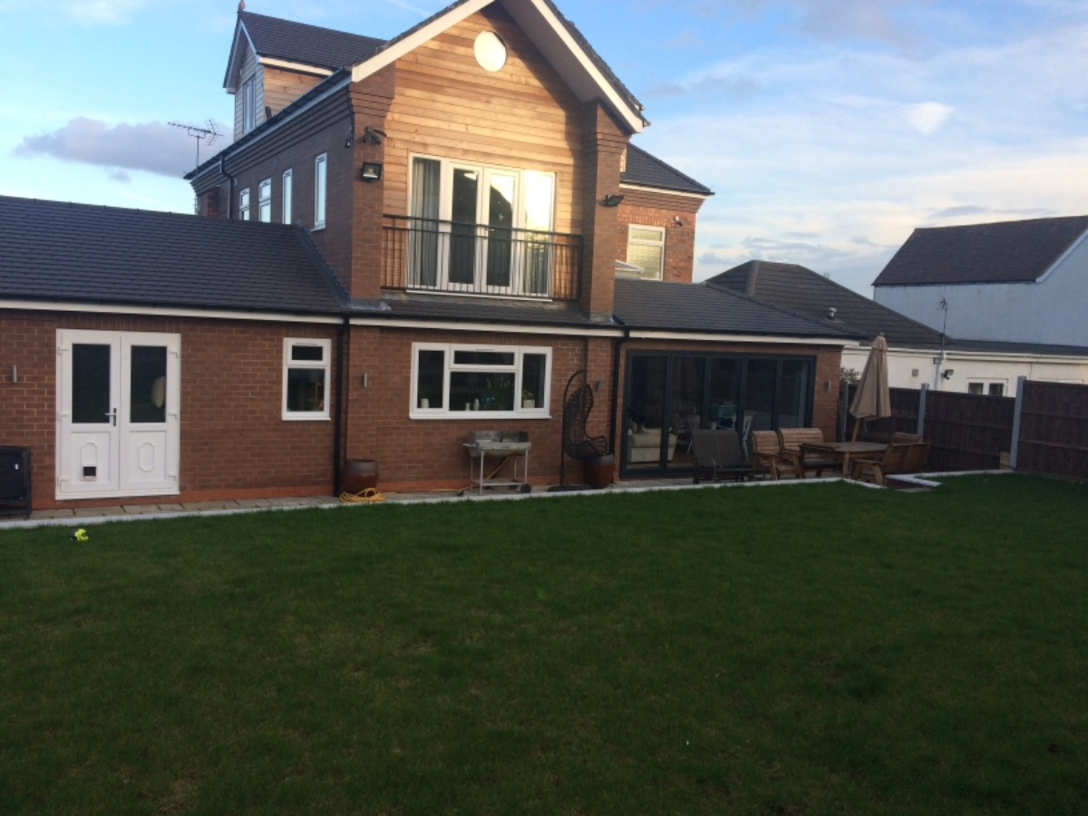 Total house re build