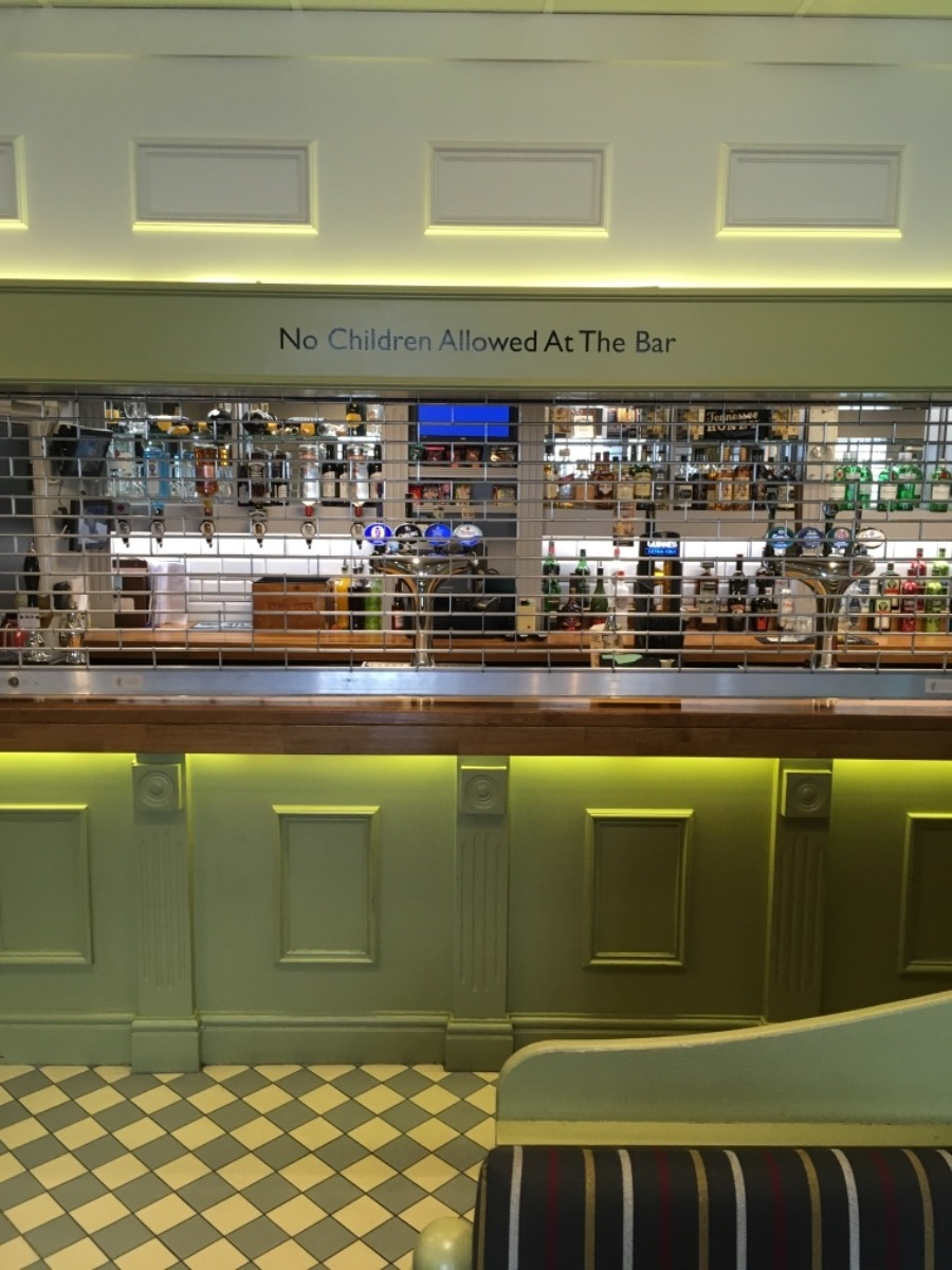 abbots men's club bar re-furb