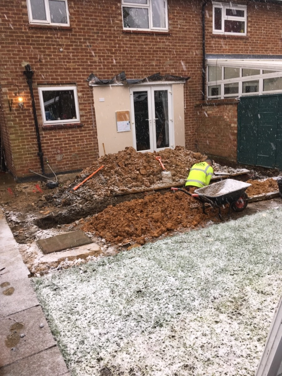 footings in abbots langley