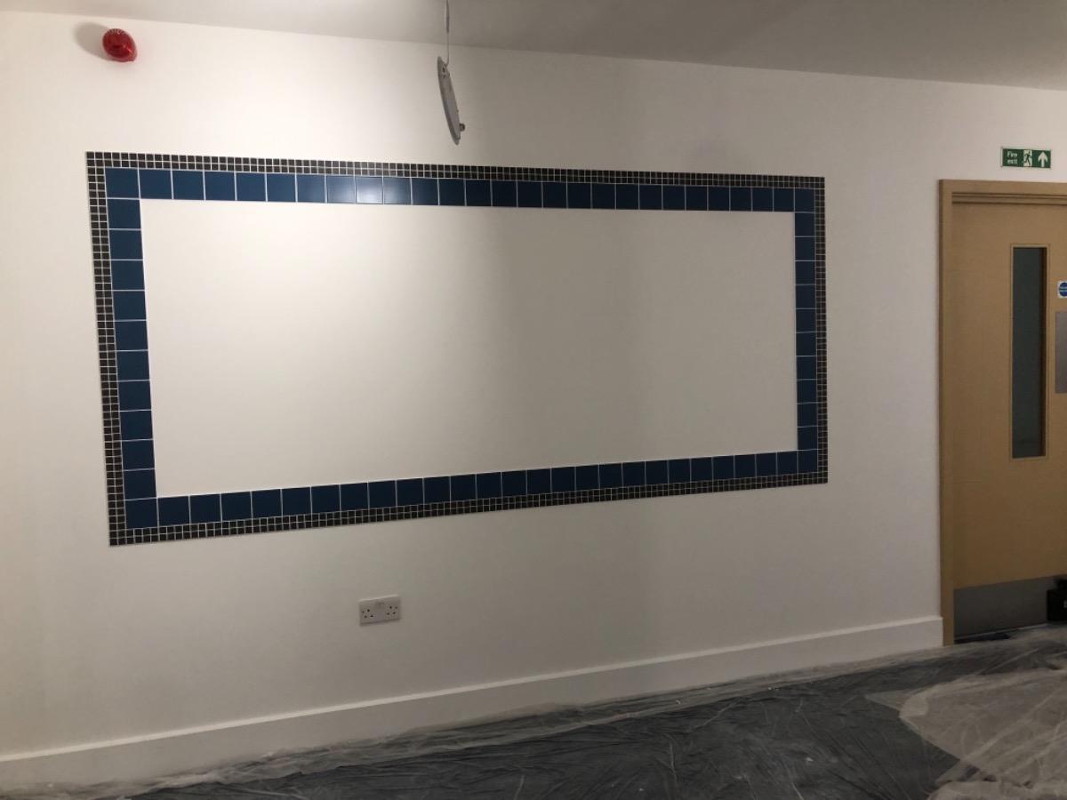 Wall tilling