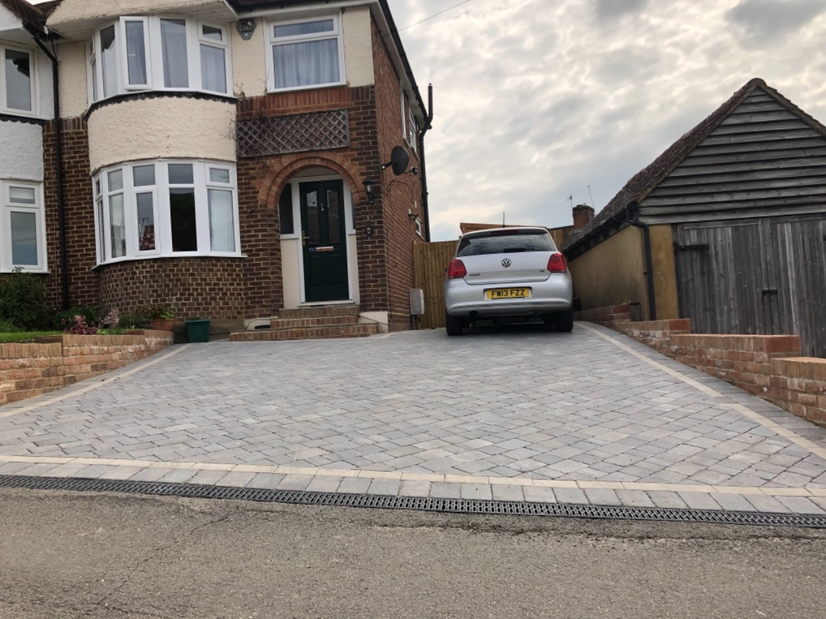 Drive way ( block paving)