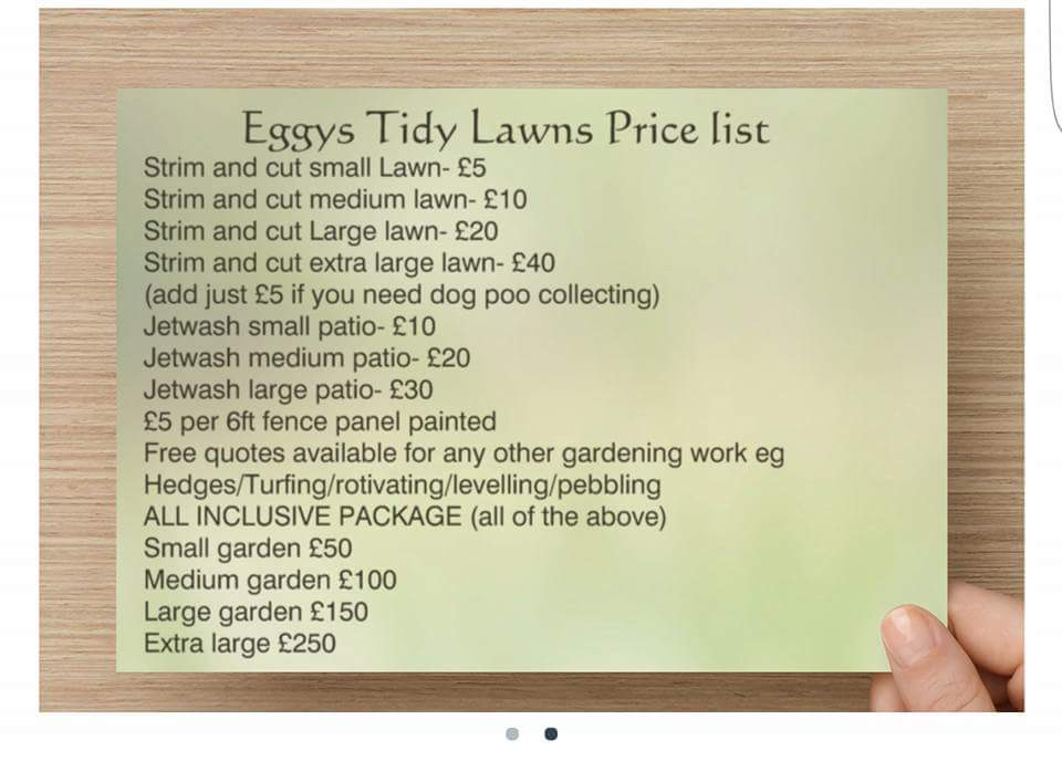 Some of our prices