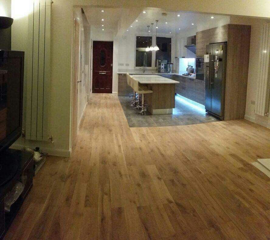Kitchen and flooring