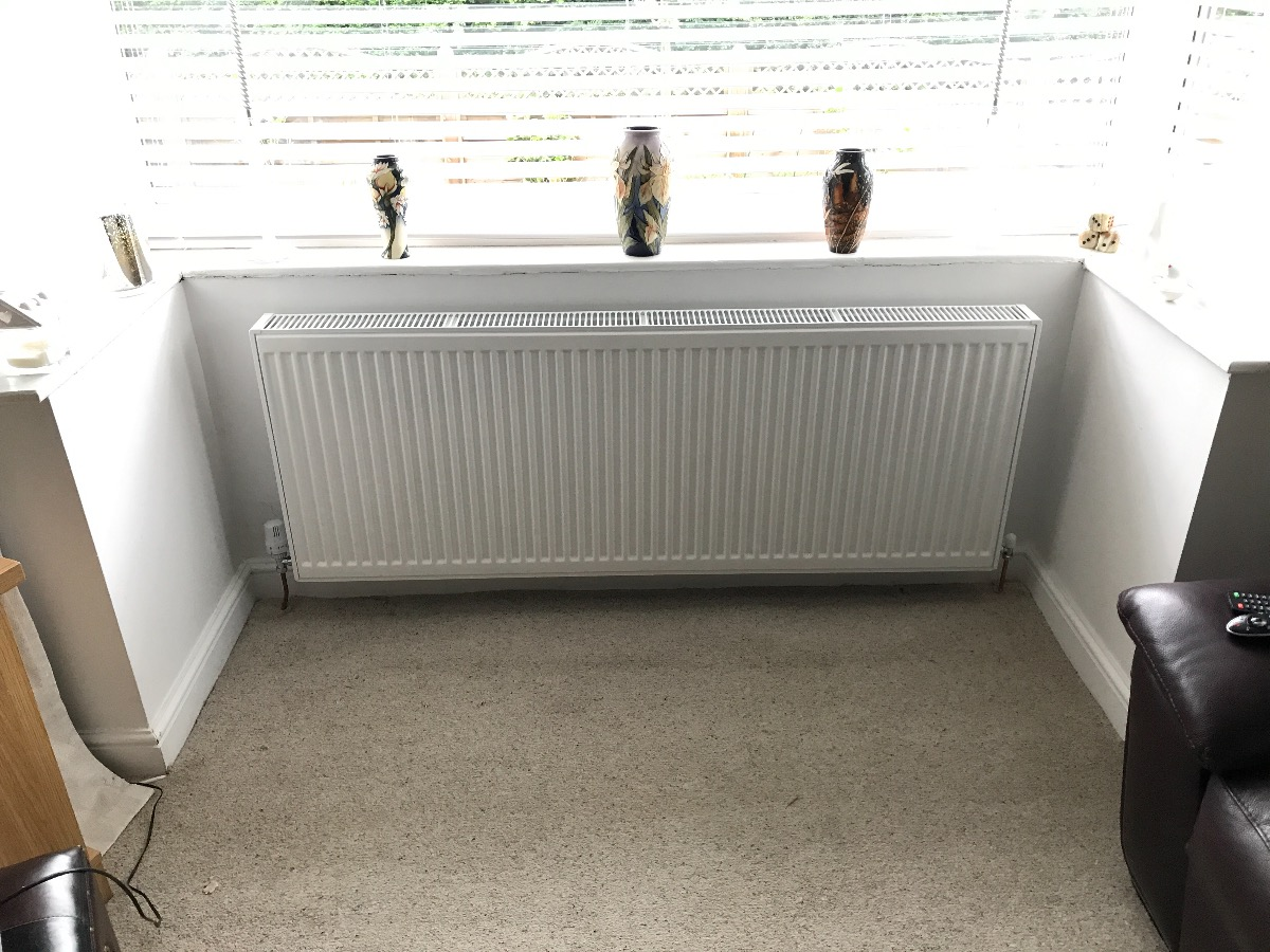 Radiator installations