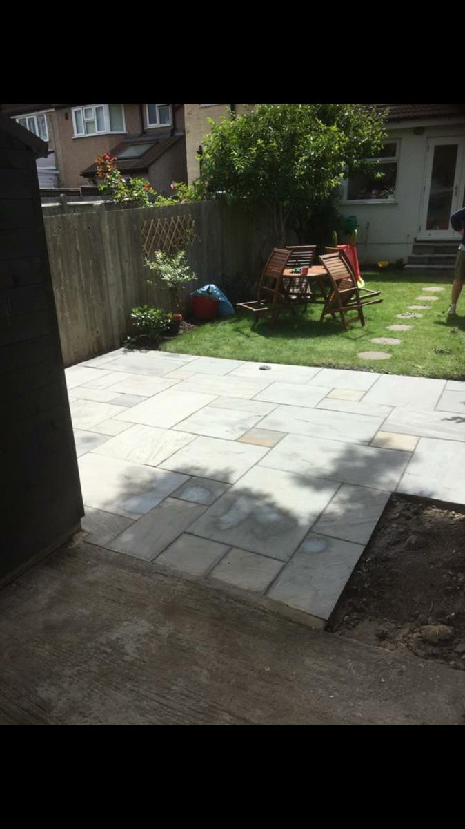 Silver gray sandstone