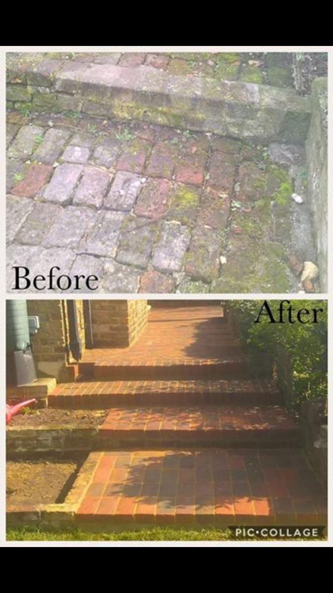 Brick paths