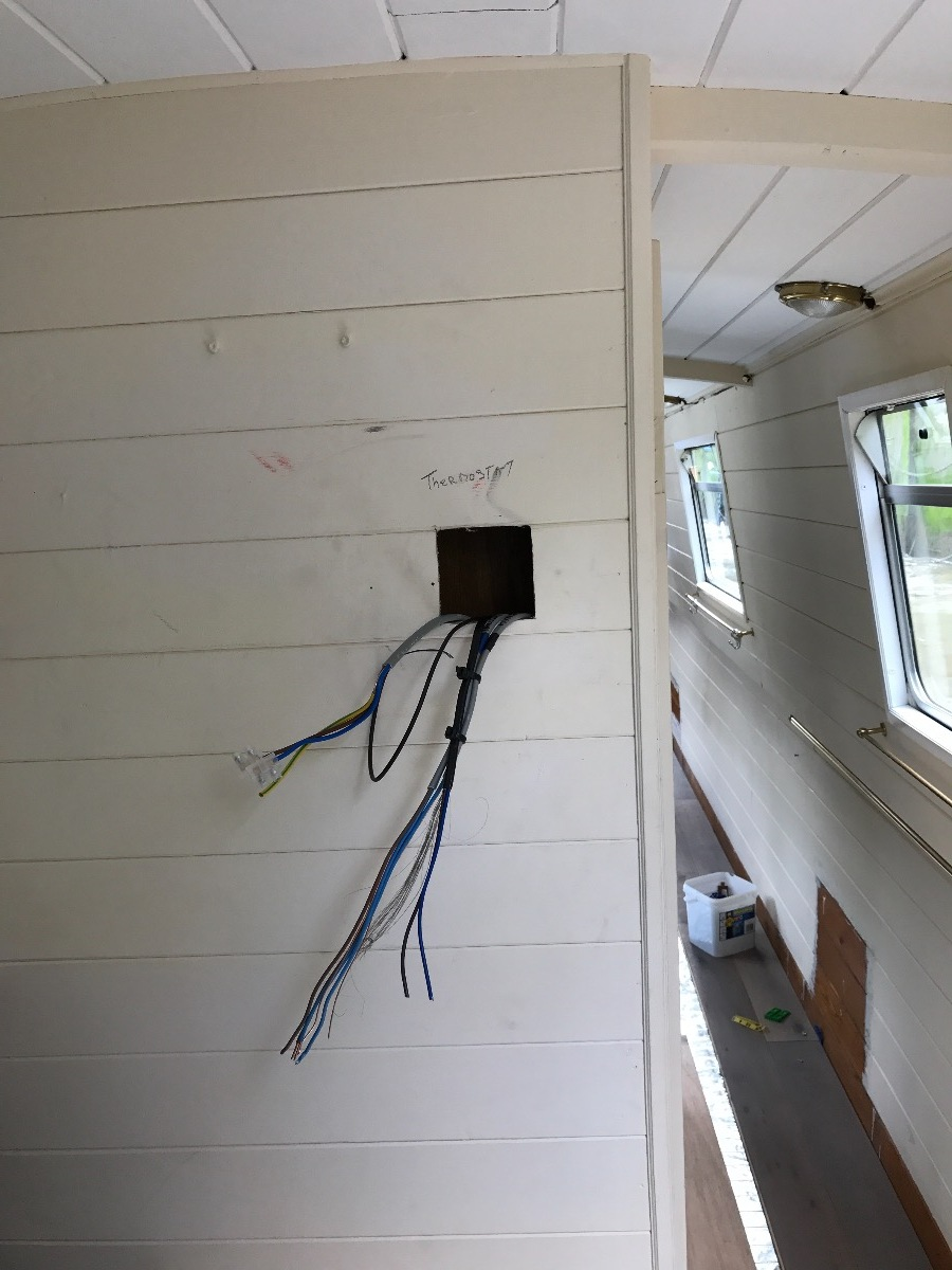 Wiring for programmer