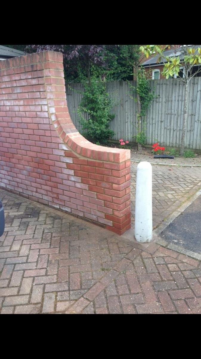 Brick wall repair