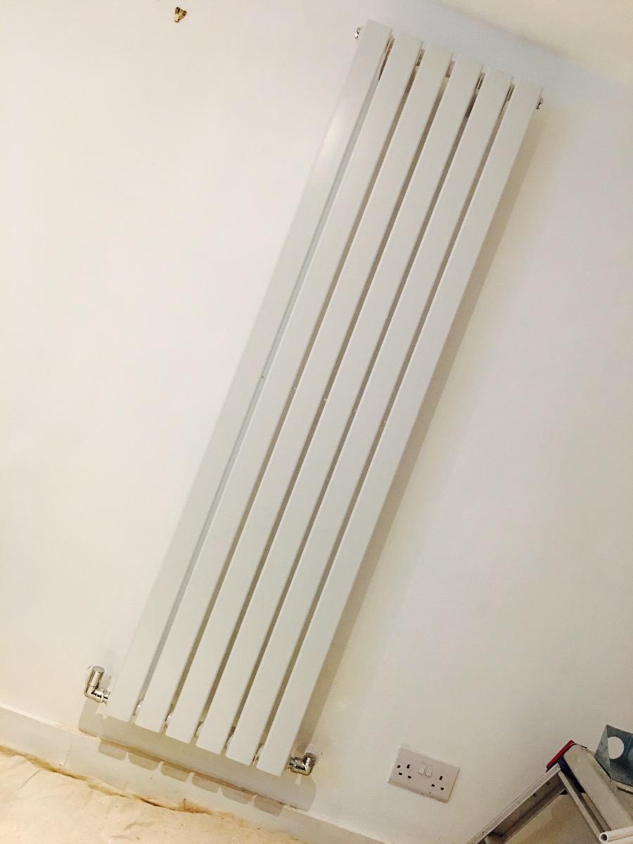 New radiator installation