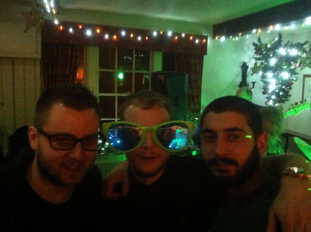 The Boys at Xmas