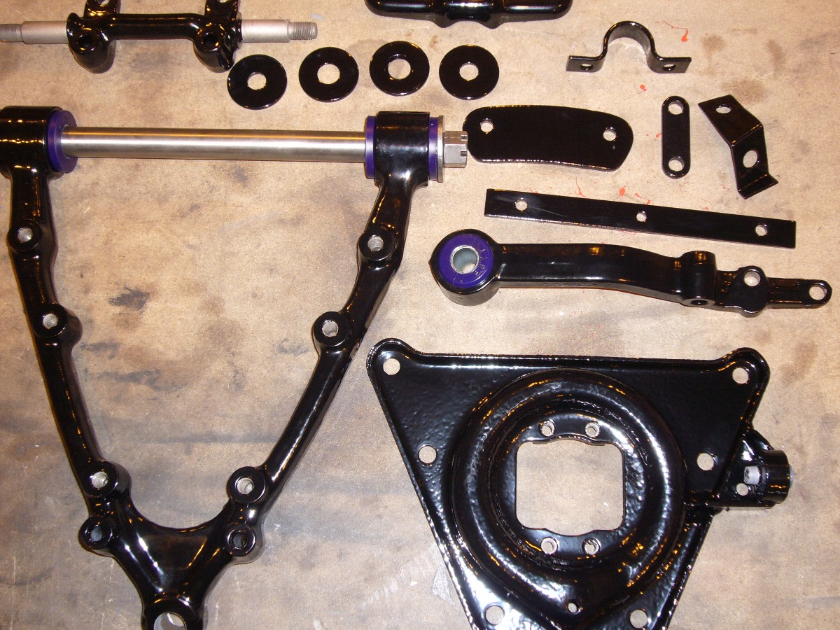 Jensen Interceptor front suspension
