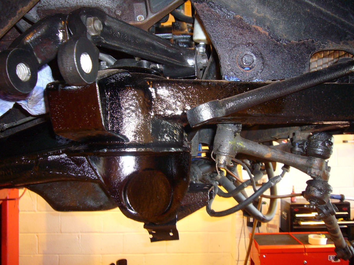 Front suspension rebuild Facel Vega HK500