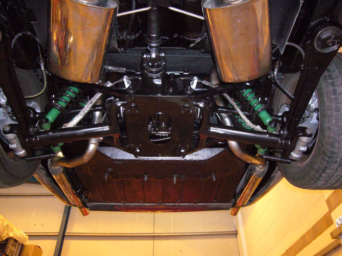 Complete suspension rebuild Jaguar XJS