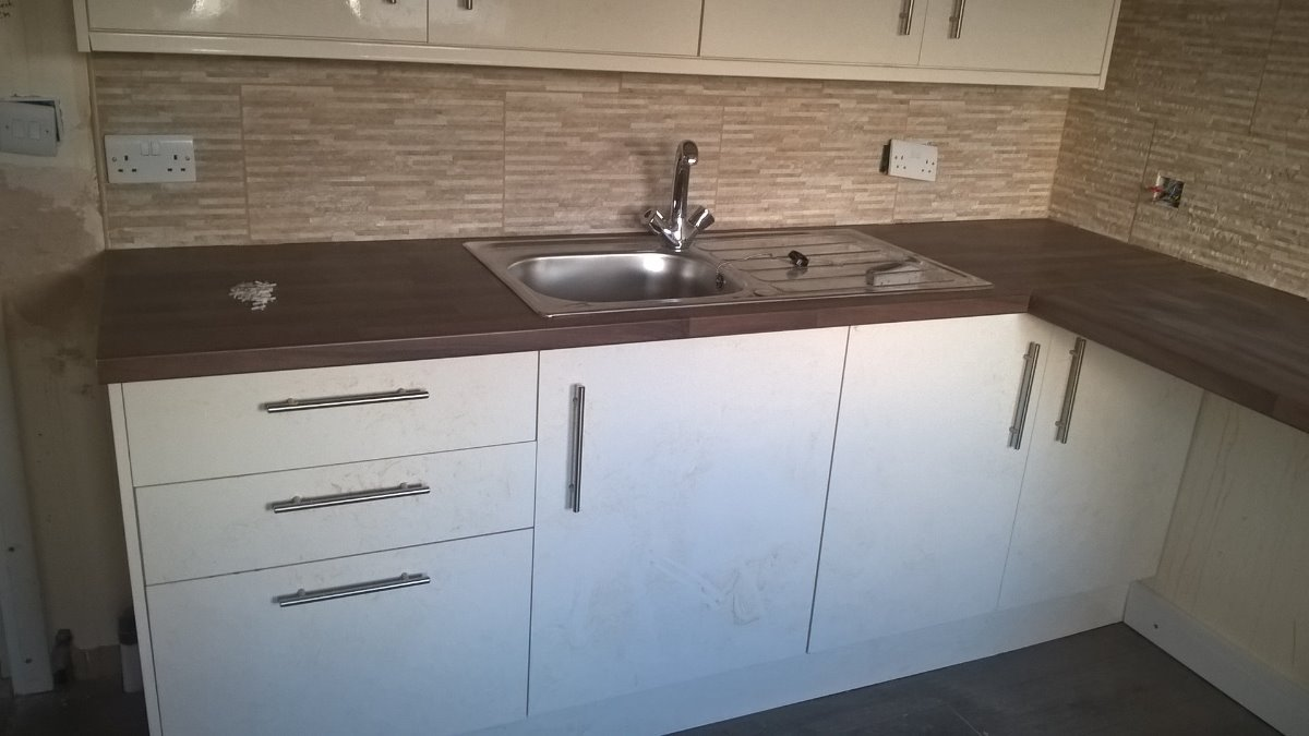 worktop and units