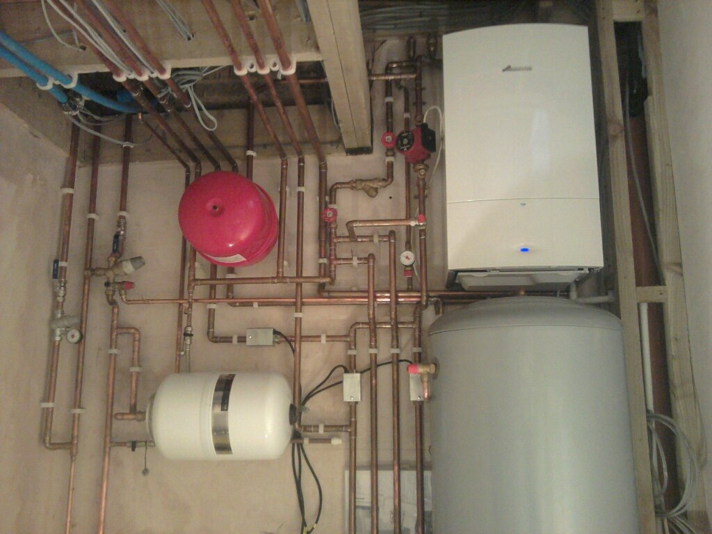 New Combi (Combination) Boiler Installation, Surrey - www.boiler-pro.co.uk