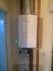Vaillant boiler with a full heating system installation as the pipework was in micro ore pipe