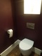 Cloak room toilet design and install