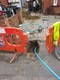 Individual mains water pipe replacement using moling technology