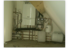 Vaillant System boiler with solar thermal